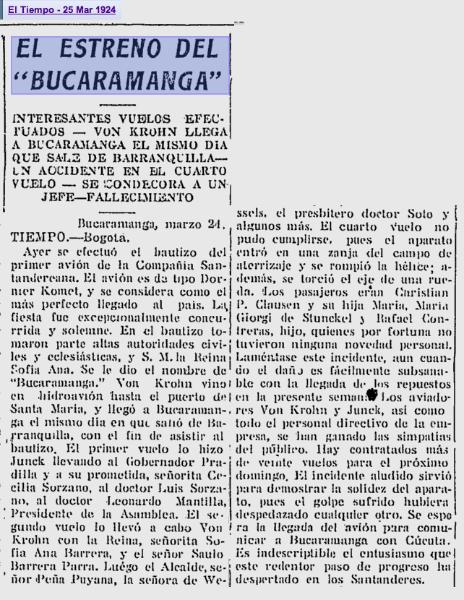 1924-mar-23_primervuelodel_dornierkomet_bucaramanga_vonkrohn