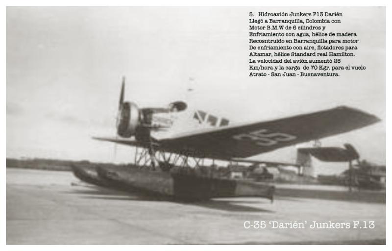 C-35 'Darien' SCADTA Junkers F.13