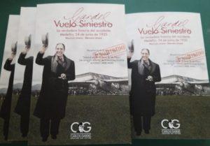 """Libro 'Gardel, Vuelo Siniestro"""""""